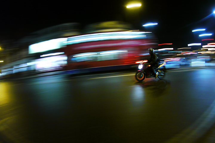 riding at night